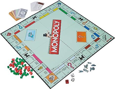 Hasbro Gaming - Monopoly clásico, Juego de Mesa (00009456) (versión Italiana): Amazon.es: Juguetes y juegos