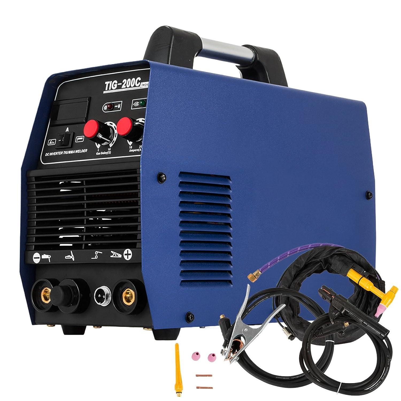 Moracle Soldador inversor ARC MMA/TIG Soldador 200A Máquinas soldadoras Máquina de soldadura eléctrica portátil (TIG 200A): Amazon.es: Bricolaje y ...