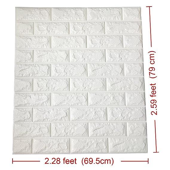 Art3d - Papel de pared despegar y pegar con efecto 3, diseño ...