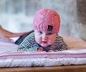 Strickset Baby Babymütze Stricken Mit Eulen Motiv Diy Set Mit