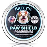 Dog Paw Balm Protection Wax - The Original Made in America Paw Shield - Large 4 oz Size - Relief for Raw Dry or Rough…
