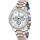 Spinnaker - SP-5027-11 - Vessel - Montre Homme - Quartz Chronographe - Cadran Gris - Bracelet Acier Bicolore