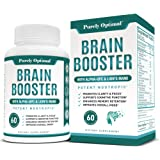 Premium Brain Supplement - Nootropic Brain Booster for Focus, Clarity, Improved Memory, Concentration & Better Mood - Brain P
