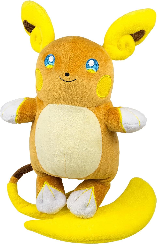 Pokemon Center Alola Raichu Plush Doll Sun Moon Stuffed Toy Alolan Gift