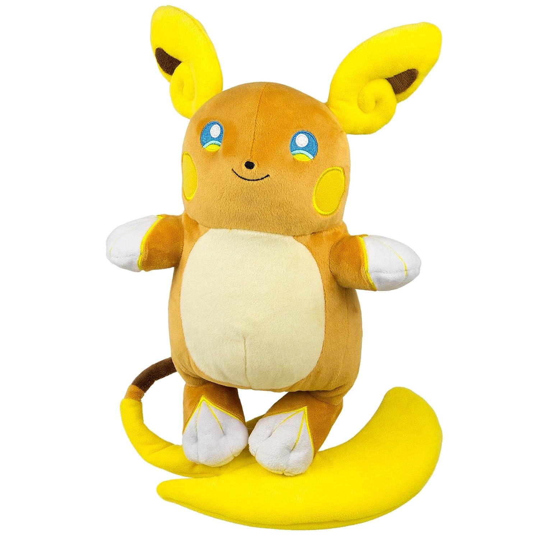 TOMY Pokemon t18981–& nbsp Pikachu avec Bonnet d'Ash, Pokémon de Haute qualité en Peluche pour Jouer et Collectionner