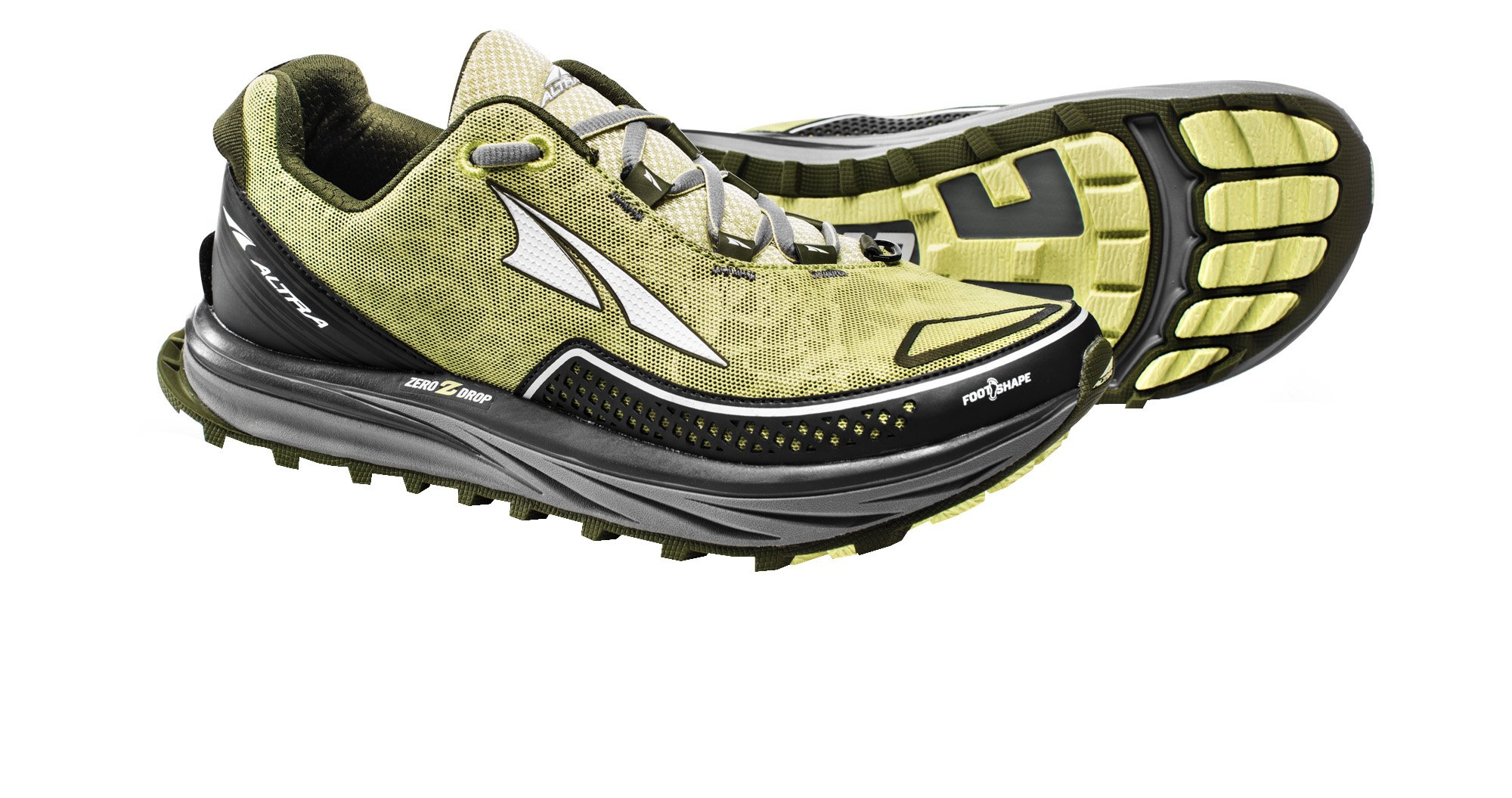 Altra AFW1757F Women's TIMP Trial Running Shoe, Lime - 6 B(M) US