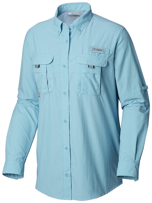 Amazon.com: Columbia Womens PFG Bahama Long Sleeve Shirt ...