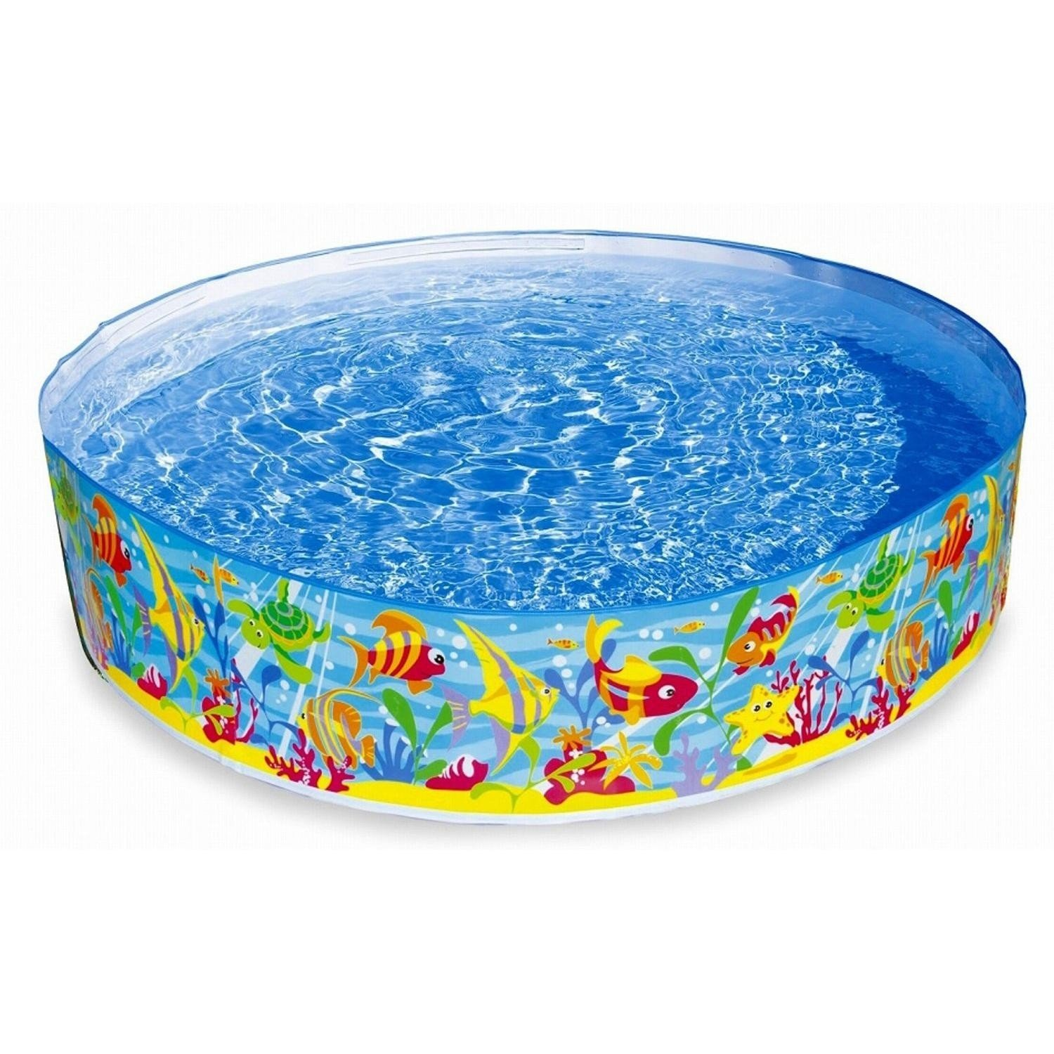 John adams 6 ocean play snapset pool ebay for Garden paddling pools