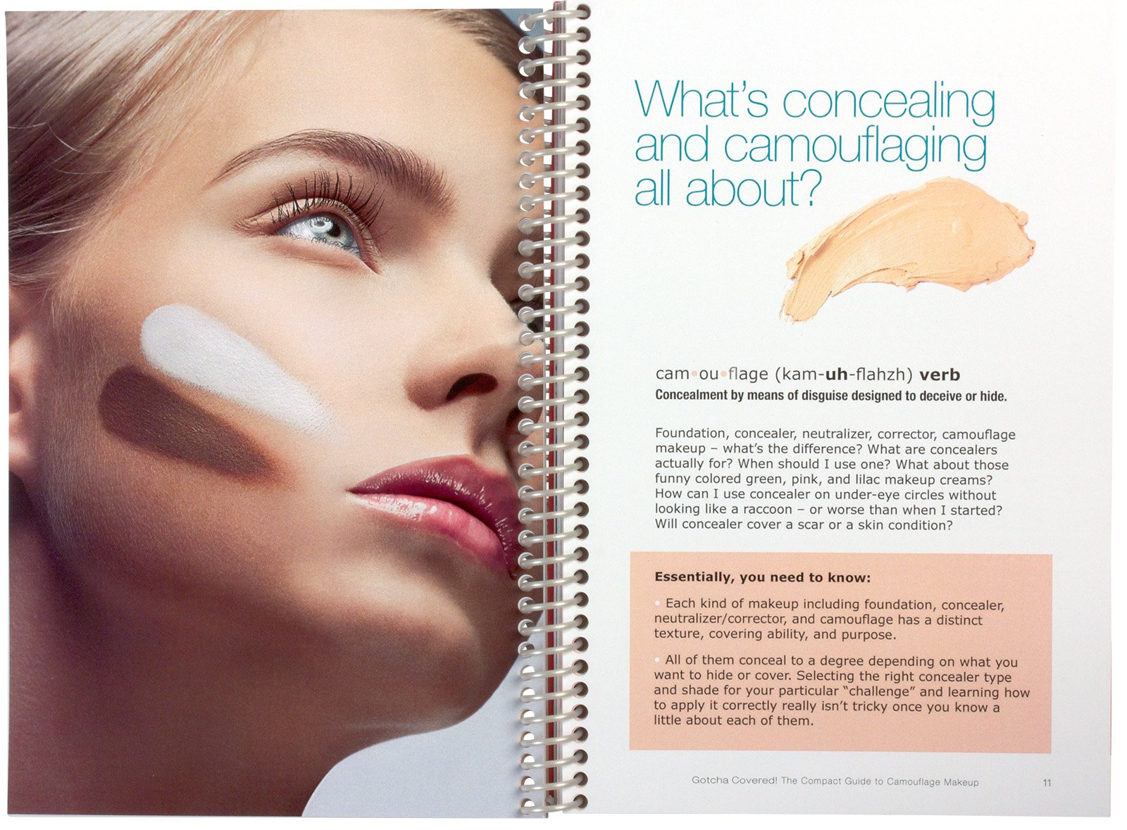 GOTCHA Covered - The Compact Guide to Camouflage Makeup: Judith ...