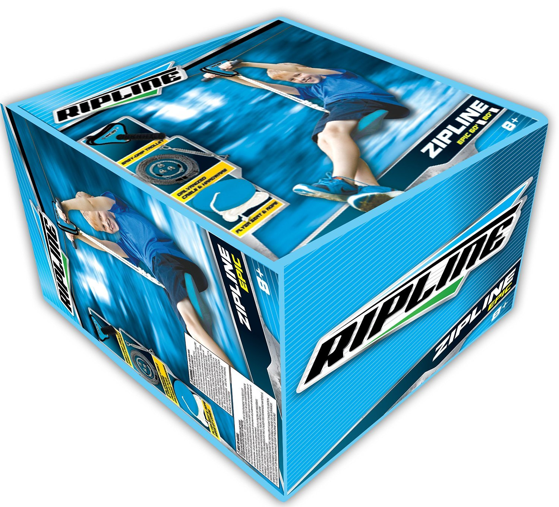 amazon com epic series 80 u0027 zipline with seat toys u0026 games