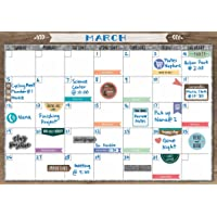 Teacher Created Resources Home Sweet Classroom Clingy Thingies Calendar Set (TCR77872)