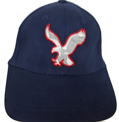 aa6274d2183ea American Eagle Outfitters Navy w  Red   White Eagle Baseball Cap S M ...