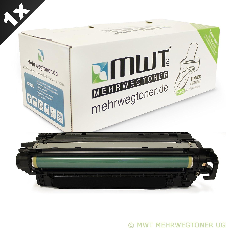 MWT Toner SCHWARZ XXL für HP Color LaserJet CM-3530-MFP CP-3525-DN