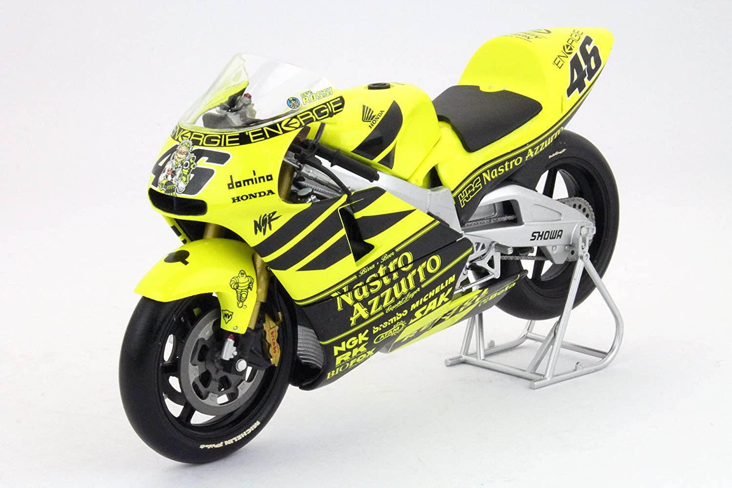 Rossi 1//12 Valentino Rossi Collection Minichamps 122016946 Honda Nsr 500 Preseason 2001 V