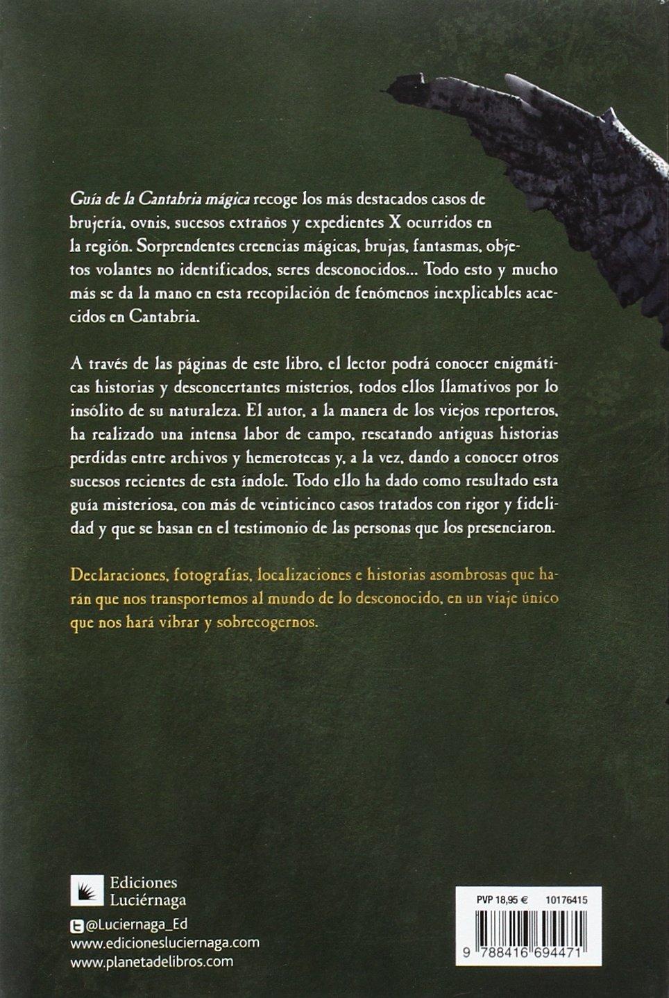 Guía de la Cantabria mágica (Guías mágicas): Amazon.es: Renedo, Francisco: Libros