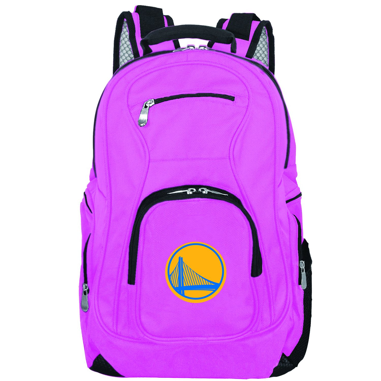 NBA Golden State Warriors Voyager Laptop Backpack, 19-inches, Pink