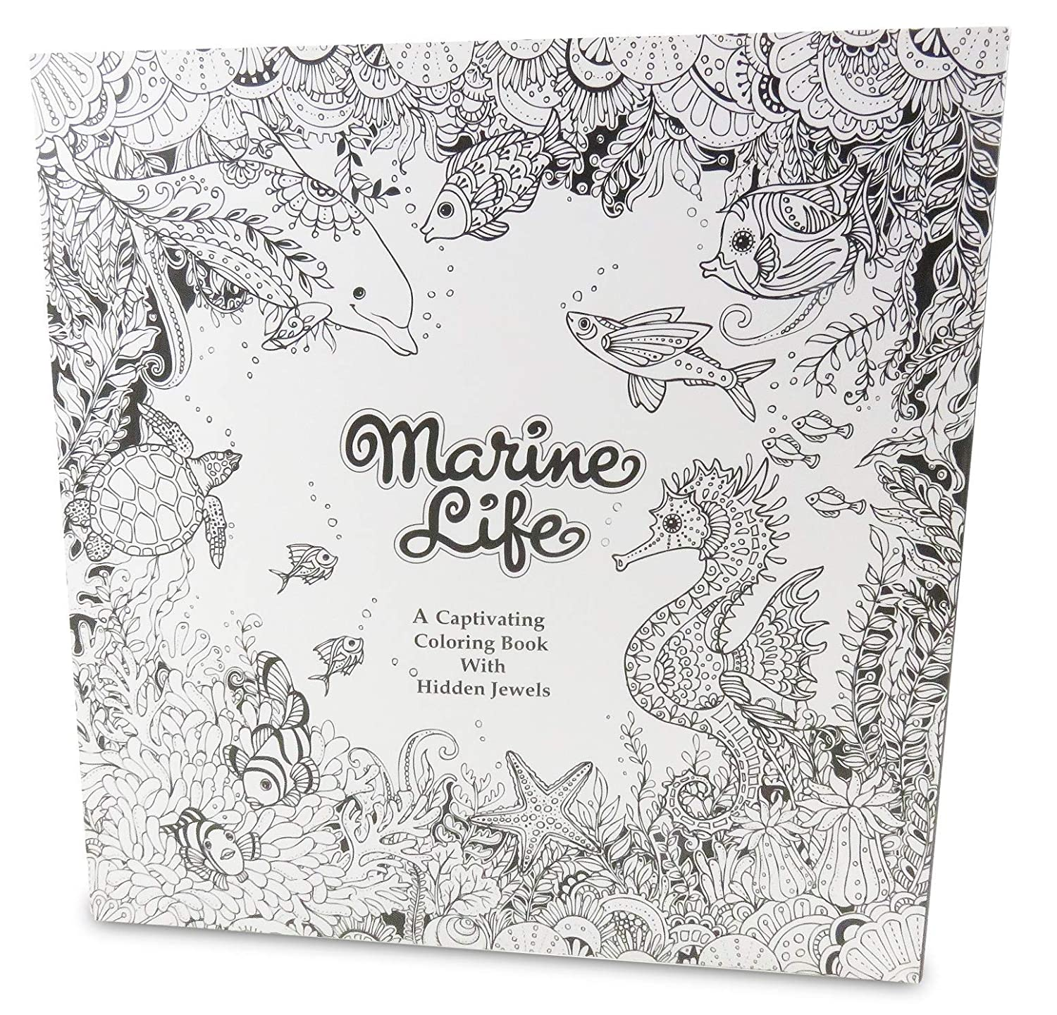with Marine Life Coloring Book 50 Pages Rainbow Colored Pencil Set Art Tools Perfect 13 Piece Stocking Stuffer Daiso Industries Co 12 Ltd.