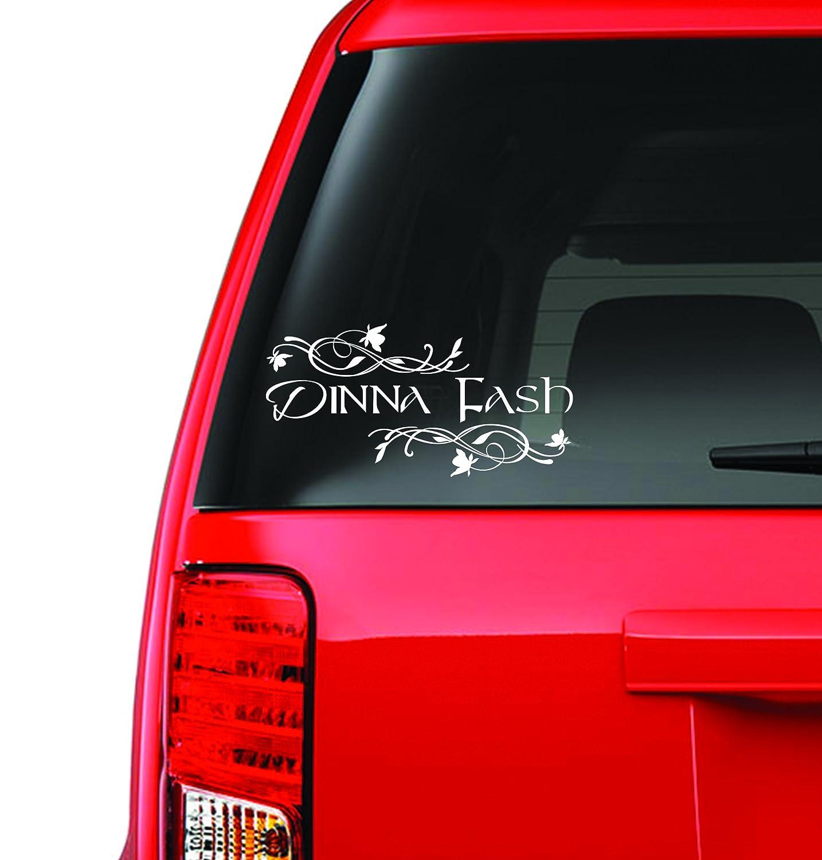 Amazoncom Custom Window Car Decal Dinna Fash Dinna Fash - Window stickers for cars custom