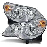 Chrysler Sebring/Stratus Sedan Headlights Headlamps Driver/Passenger Pair New