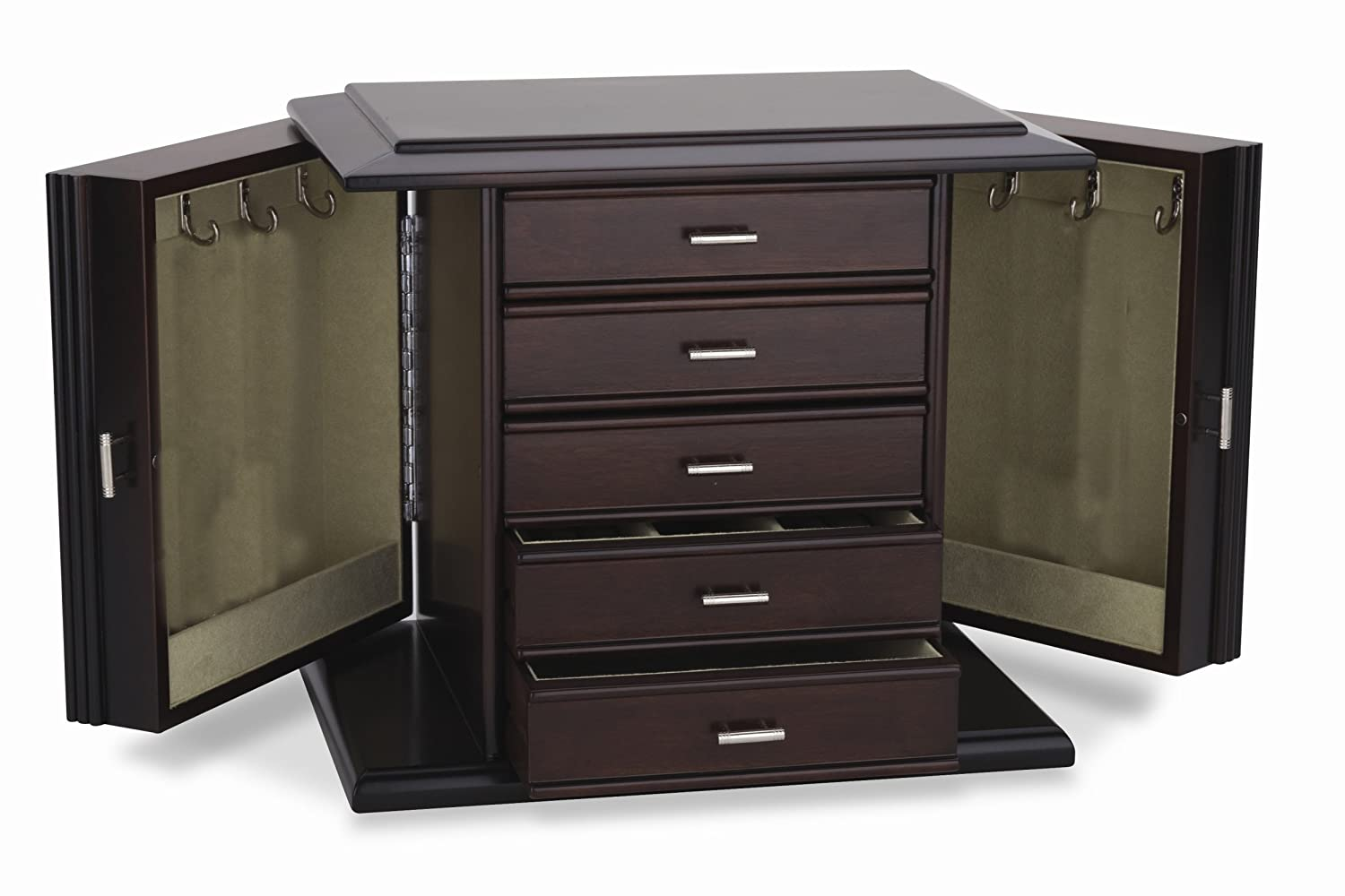 Amazoncom Reed Barton Diva Jewelry Chest Home Kitchen