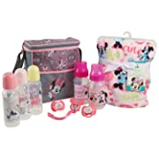Disney Baby Minnie Mouse Essentials Bundle, Pink