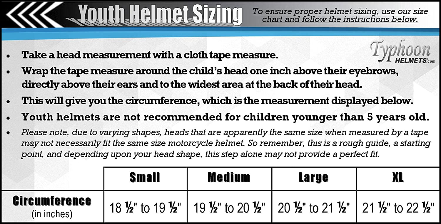 Amazon com youth kids full face helmet with shield motorcycle