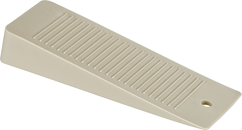 Wenko 4960020 Cuña para Puertas, Beige, 10x3.5x3 cm