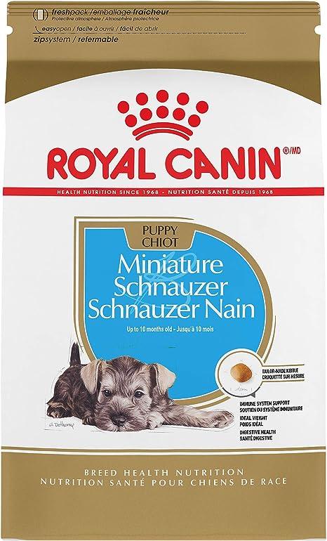 ROYAL CANIN Schnauzer - Comida para perros en miniatura seca, 2,5 ...