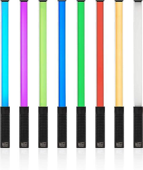 YOUKOYI RGBW LED /éclairage vid/éo poche photographie lumi/ère Ice Light pour Studio Photo Videography