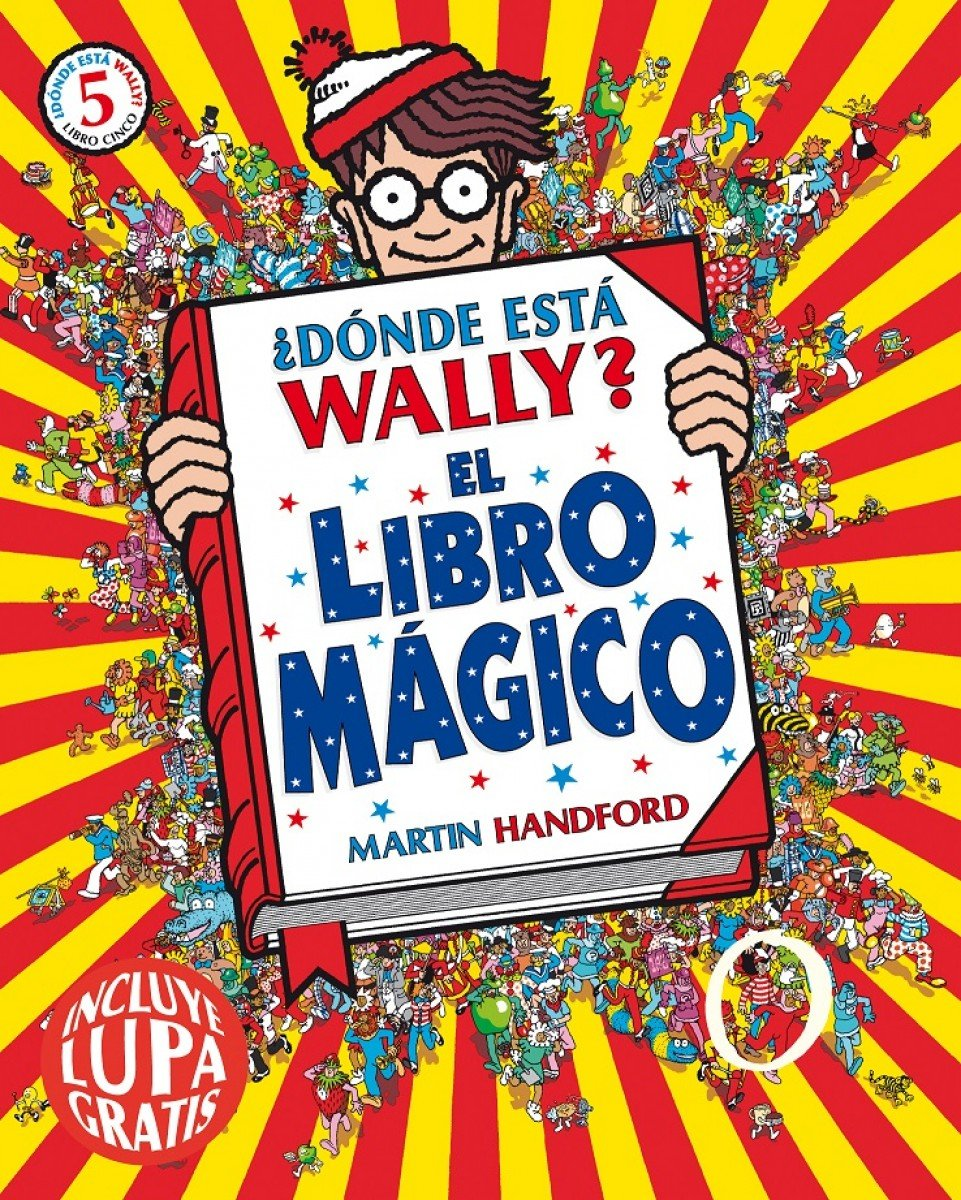 El libro mágico Colección ¿Dónde está Wally? : incluye lupa gratis:  Amazon.es: Martin Handford: Libros