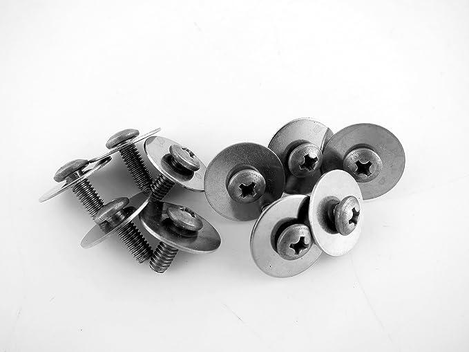 20 Drum Lug Mounting Screws M4 x 11mm BLACK w// Washers Fixed Screws 20PCS//PK