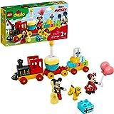 LEGO DUPLO Disney Mickey & Minnie Birthday Train 10941 Kids' Birthday Number Train; Learning and Building Playset, New 2021 (