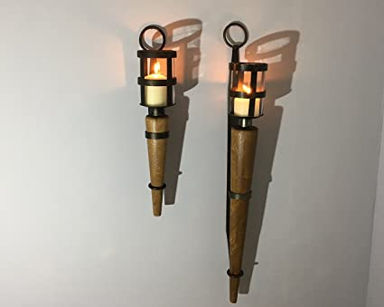 buy popular c6068 fae45 Wall Sconce - Medieval Wall Sconce - 60cm Torch Style (SA02a)