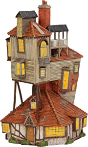 """Department 56 Harry Potter Village The Burrow Lighted Buildings, 9.06"""""""