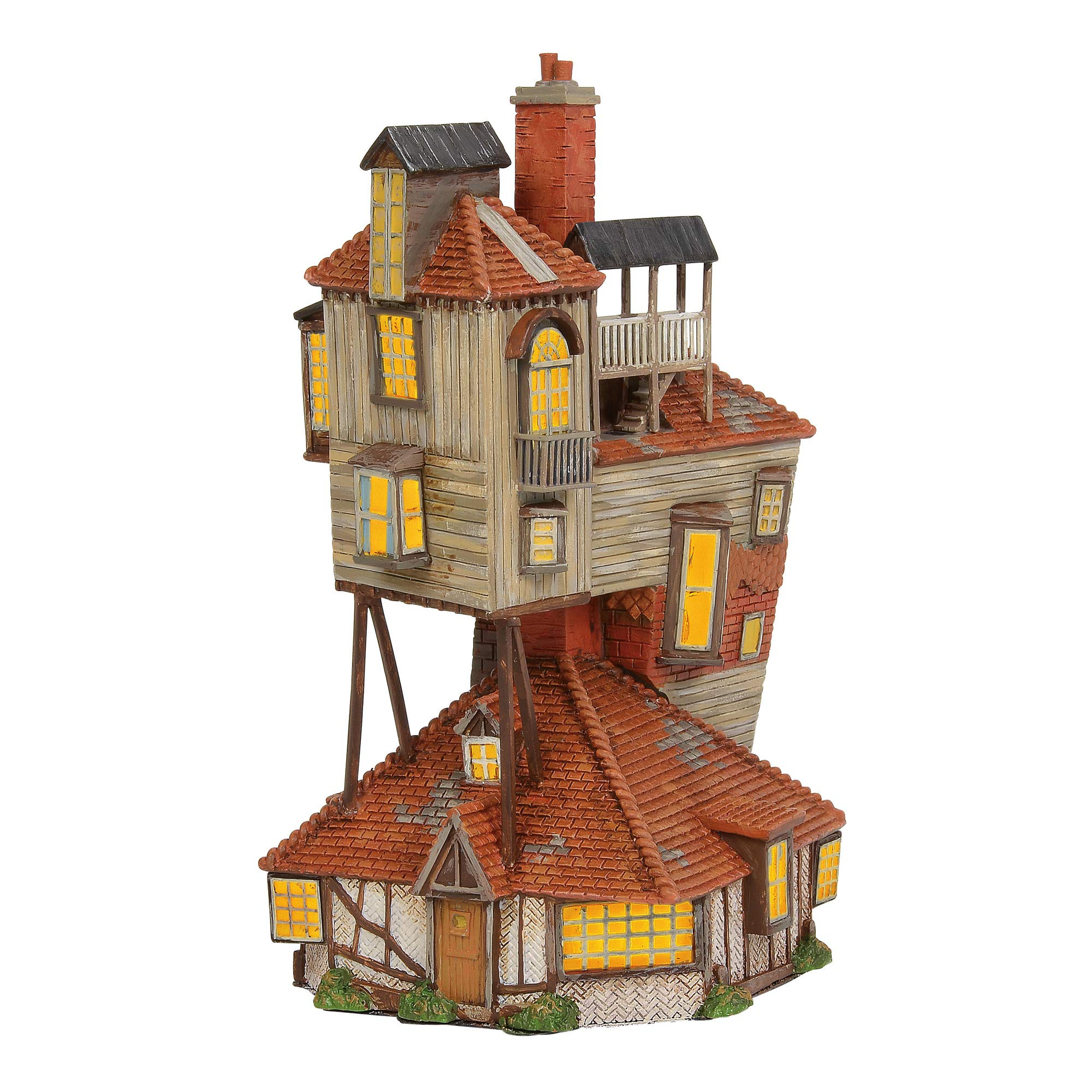 Department 56 Harry Potter Village The Burrow Lighted Buildings, 9.06''      by Enesco