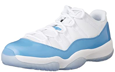 jordan Air 11 Retro Low UNC Columbia Men Lifestyle Sneakers New White (8)