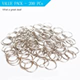 "Prudance 200Pcs 1""(25mm) Nickel Plated Steel Heat"