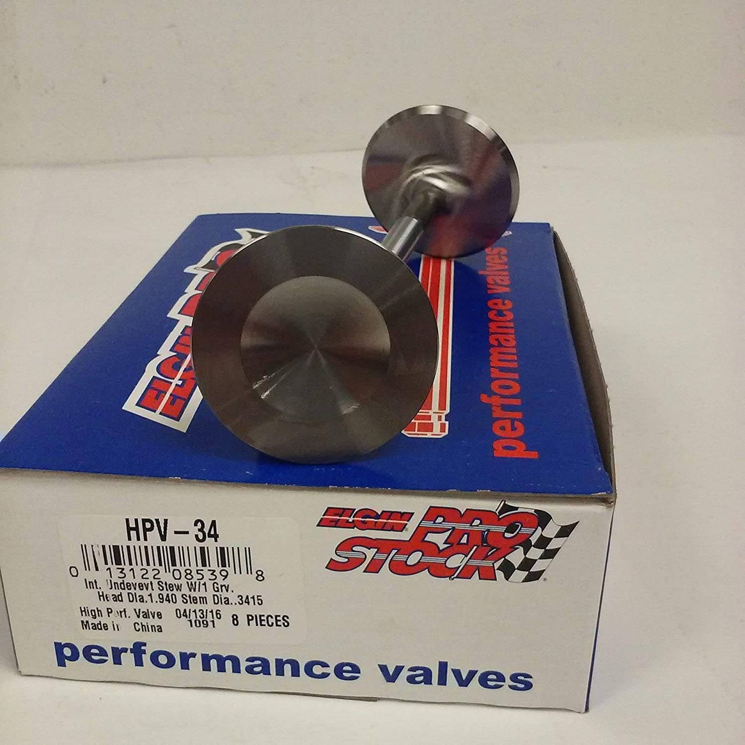 """New Stainless Steel Valve Set 1.94/"""" Intake /& 1.5/"""" Exhaust sb Chevy 400 350 327"""