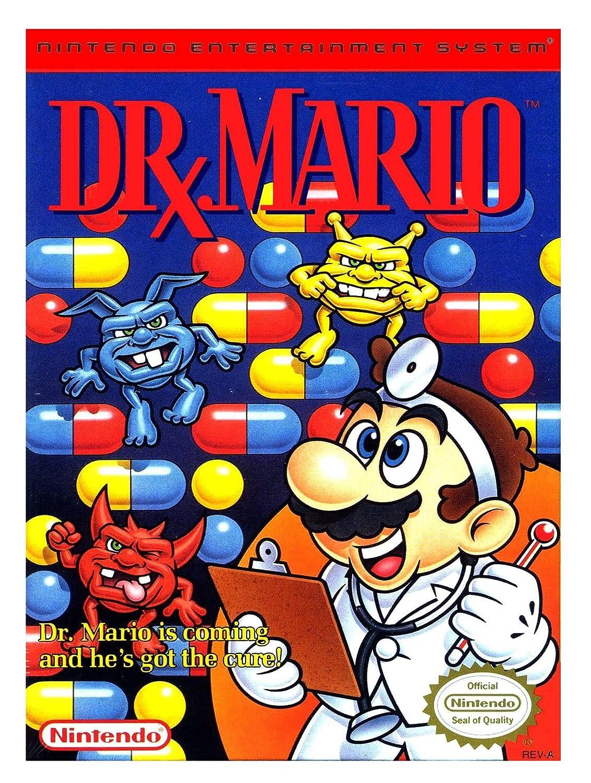 Amazon Com Dr Mario Video Games