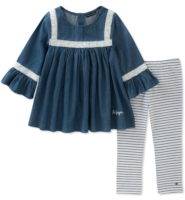 【ラッピング無料】 Tommy Hilfiger PANTS Tommy ベビーガールズ 12 Misses Dark Misses Wash Blue 12/Stripes B073RVQ78R, アマラスラグジェクリスタルデコ:e5e84768 --- a0267596.xsph.ru