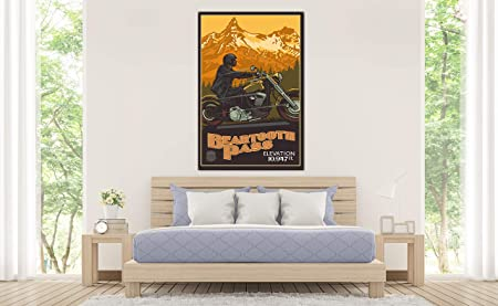 Amazon.com: Beartooth Pass Cooke City Montana Motorcycle ...