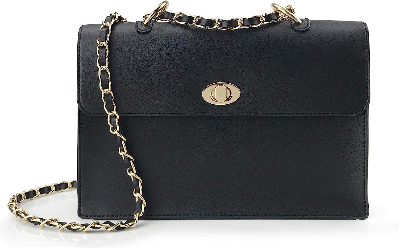 Women/'s Shoulder Bags Leather Purses Flap Handbags Travel Luxury Crossbody Bags