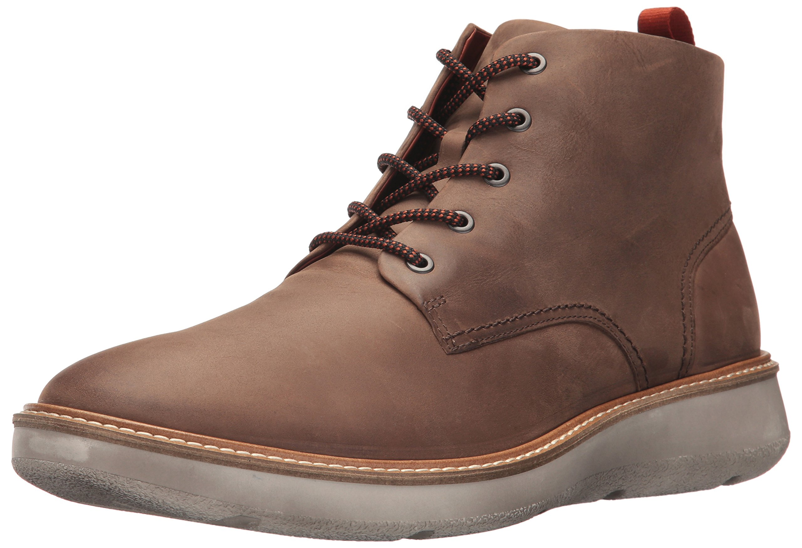 ECCO Men's Aurora Mid Chukka Boot, Cocoa Brown, 43 M EU/9-9.5 D(M) US