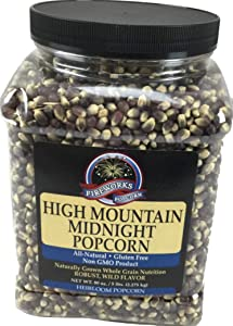 Gourmet Popping Corn Gift, High Mountain Midnight