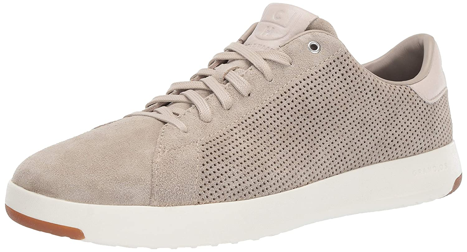 Hawthorn Suede Perforated Pumice Stone Cole Haan Men's Grandpro Tennis Tennis shoes