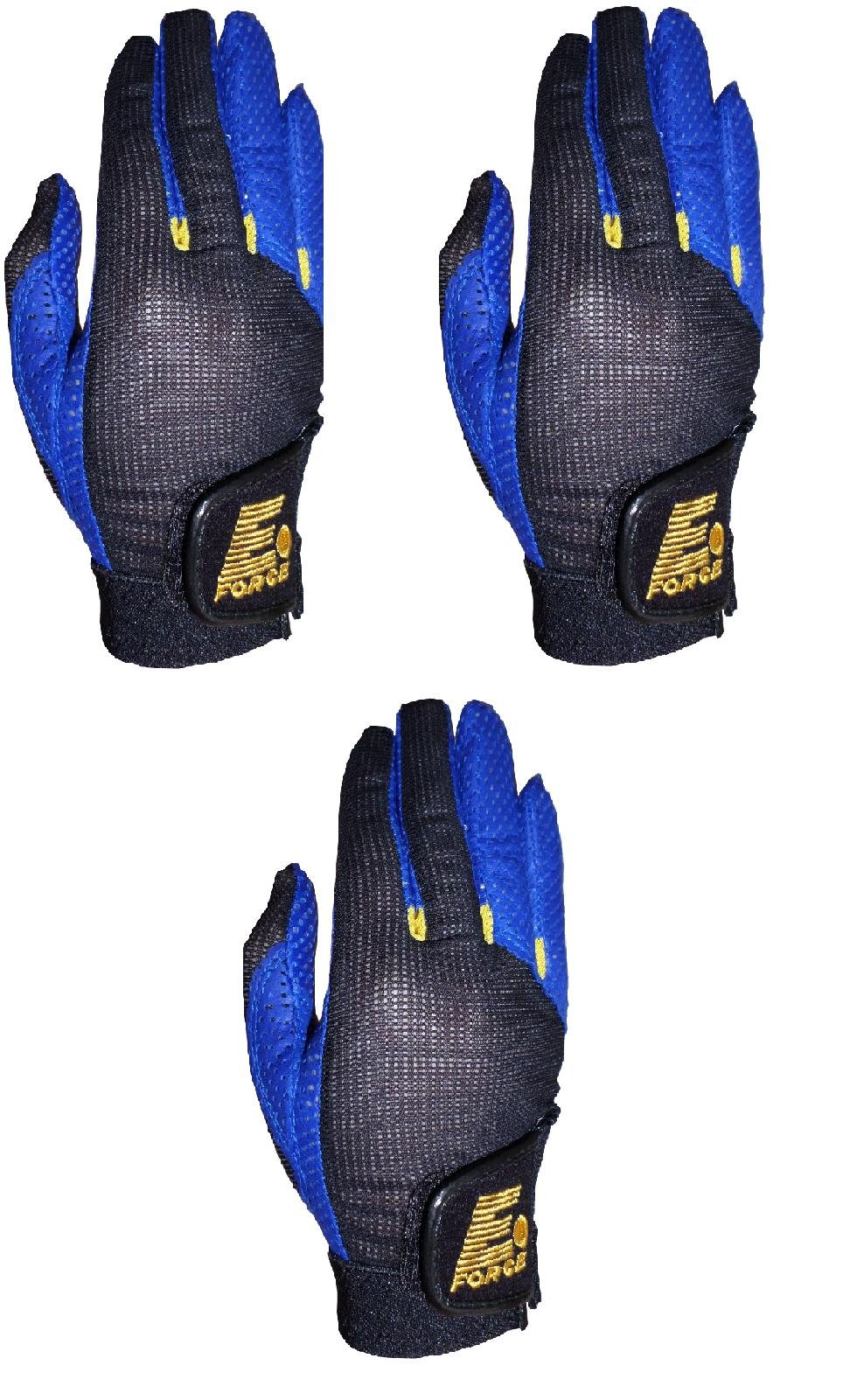 E-Force Three Chill Racquetball Glove Right Medium (Three Pack)