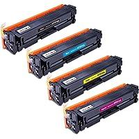 Kit Colorido de Toner Compatível CF510A CF511A CF512A CF513A para Impressora M154A M154NW M180N M180NW M 154A M 154NW M…