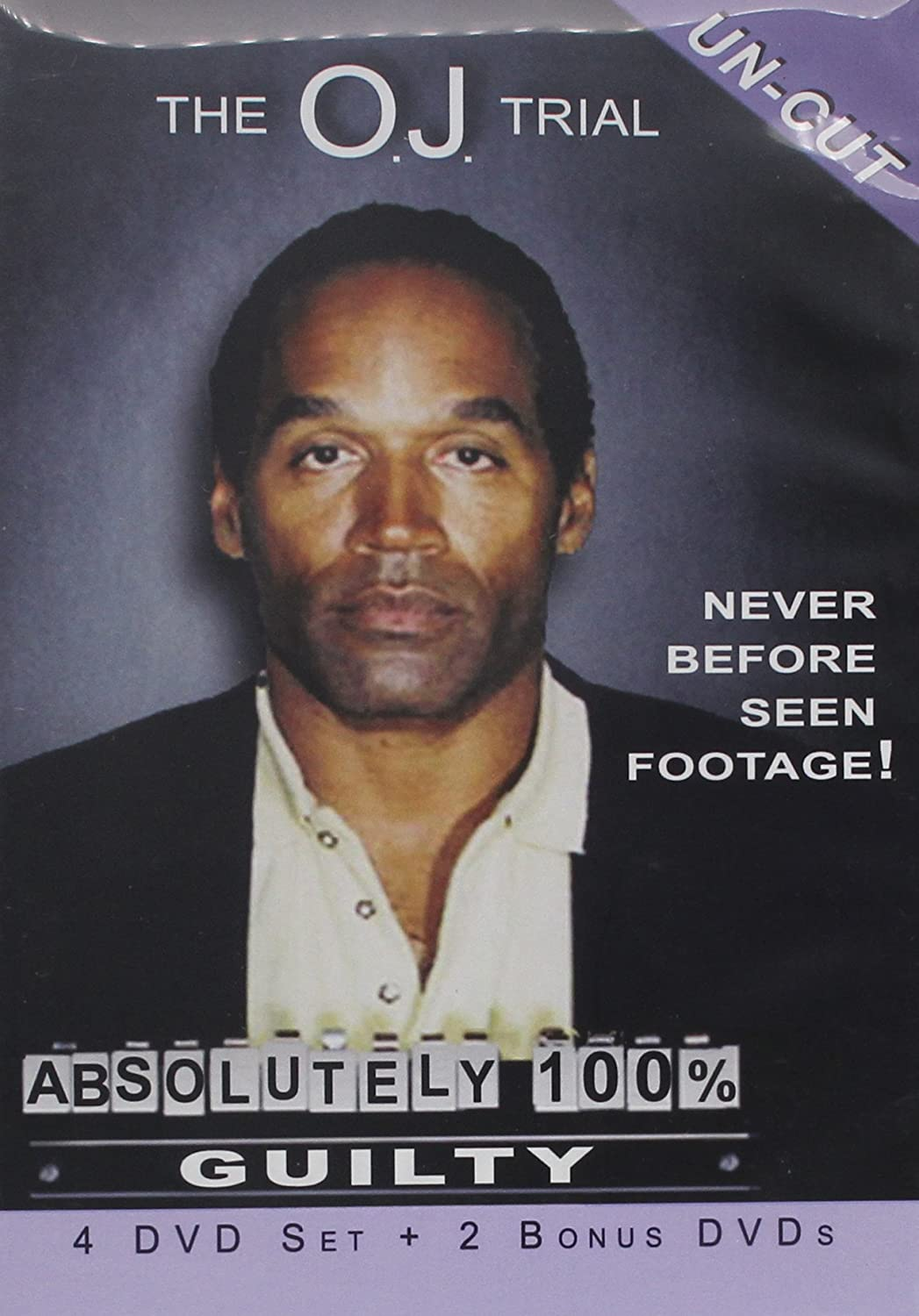 Amazon com: O J  Simpson Absolutely 100% Guilty Trial DVD