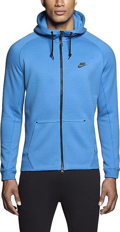 Amazon Com Nike Men S Tech Fleece Aw77 1 0 Full Zip Hoodie Clothing