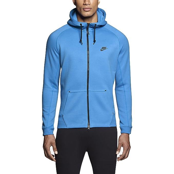 Nike de Hombre Tech Fleece Sudadera con Capucha AW77 – 1.0-559592-435,